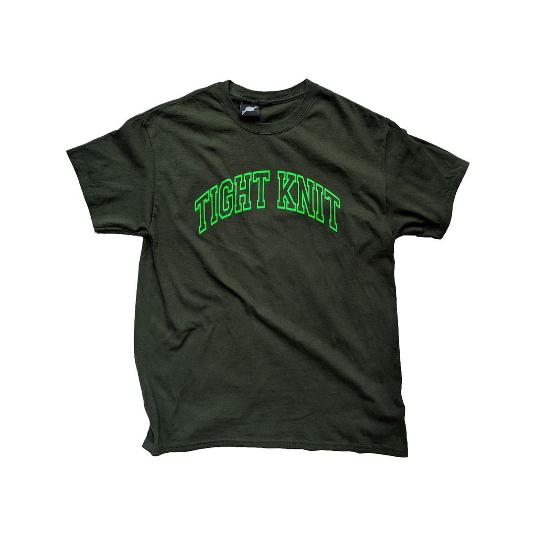 Forest Green Tight Knit Tee - Tight Knit Clothing