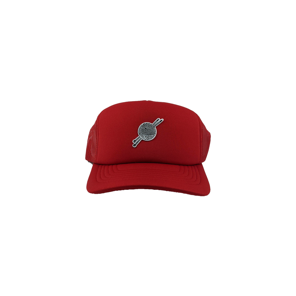 TK Red Foam Trucker - Tight Knit Clothing