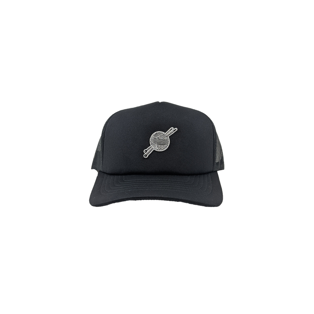 TK Black Foam Trucker - Tight Knit Clothing