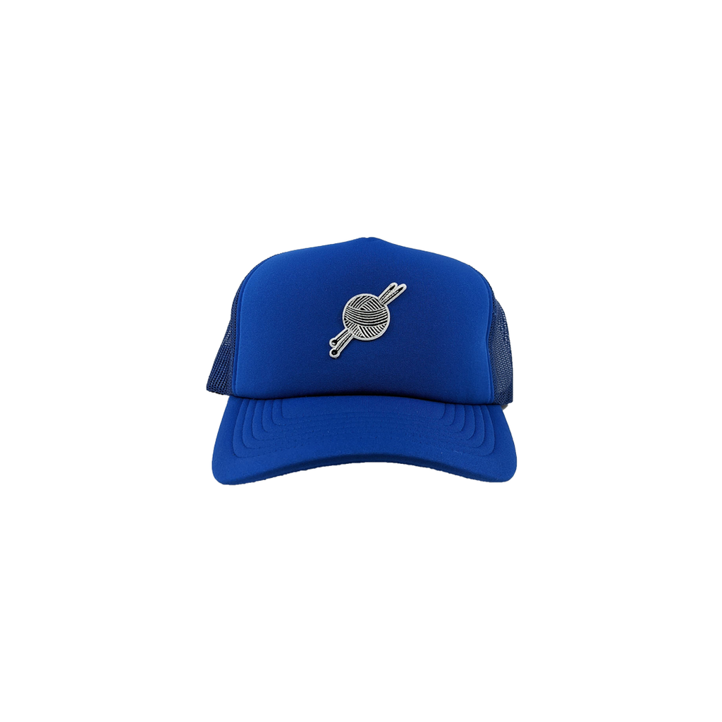 TK Blue Foam Trucker - Tight Knit Clothing