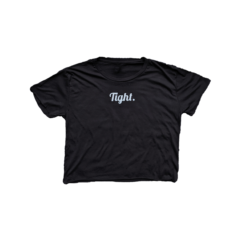 Tight. Crop Top Black - Tight Knit Clothing