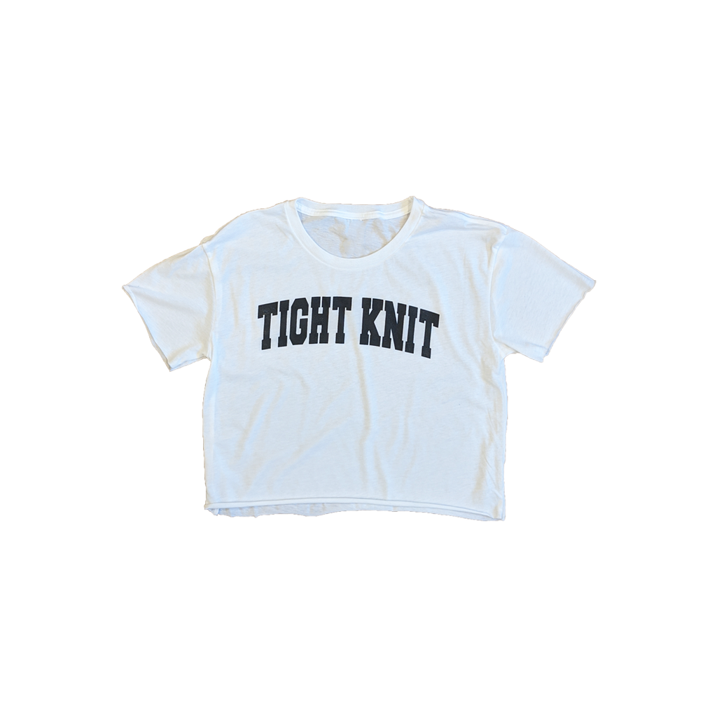 Tight Knit Collegiate Crop Top - Tight Knit Clothing