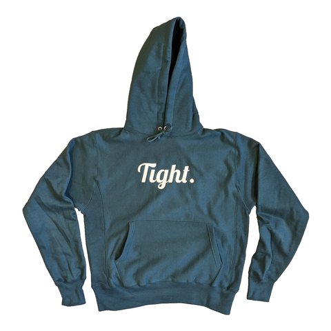 Tight Twill Green Hoodie - Tight Knit Clothing