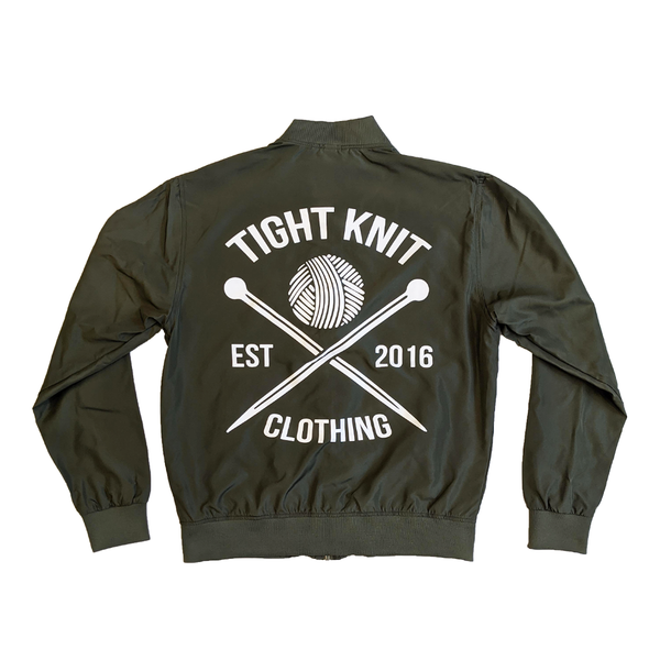 Tight Knit Bomber - Tight Knit Clothing