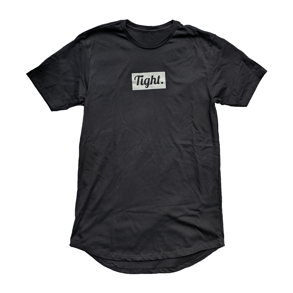 3M Tight. Black Drop Tee - Tight Knit Clothing
