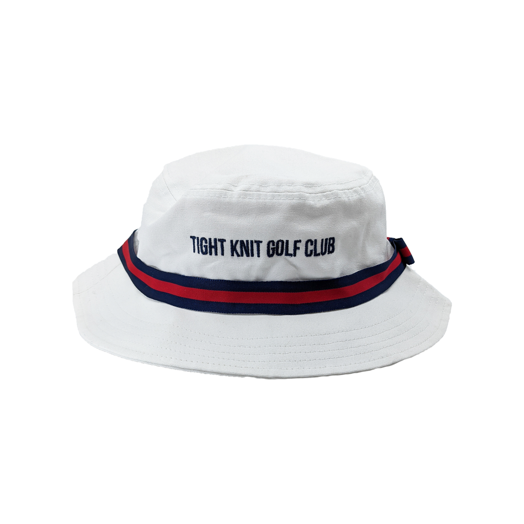 Tight Knit Golf Club Oxford Bucket Hat