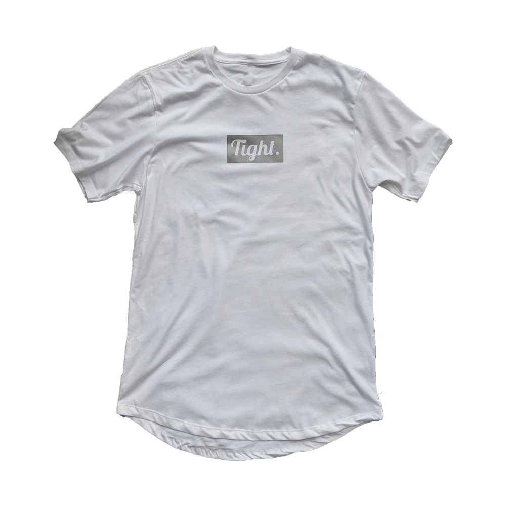 3M Tight. White Drop Tee - Tight Knit Clothing