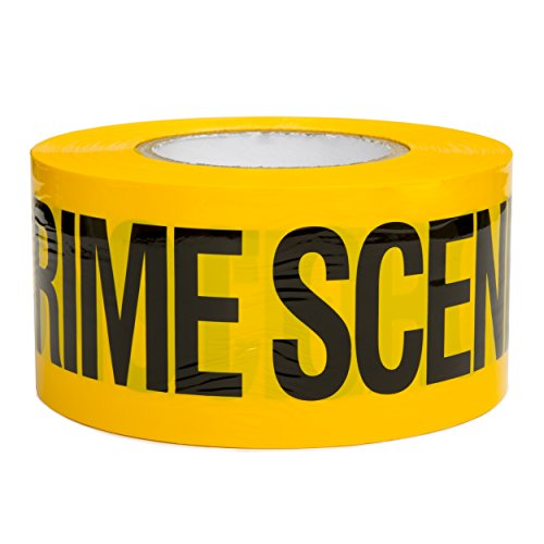 Crime Scene Do Not Cross Safety Tape 3in X 1000ft