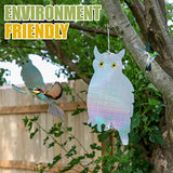 Owl Bird Repellent Reflective Holographic 2 Pack 15.3 x 8.2 inch