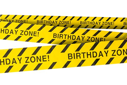 Birthday Zone! Party Tape 3 In. X 100 Ft