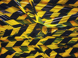 Black and Yellow Stripe Safety Stripe Tape 3in X 300ft