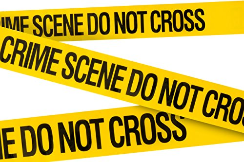 Crime Scene Do Not Cross Party Tape 3 In X 100 Ft