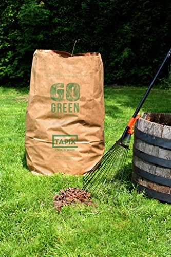 Tapix Lawn and Leafs Bags 30 Gallon Lawn & Leaf Refuse Bags (24 Count)