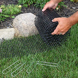 Anti-cat Network Cat Scat Mat with Spikes 8 feet x 12 inches with 6 Staples