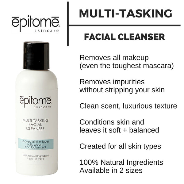 Multi-Tasking Facial Cleanser