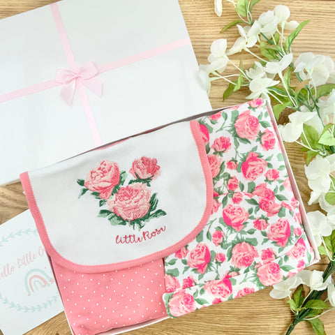 Baby Girl Gifts (5 Items) - Little Rose Baby Gifts