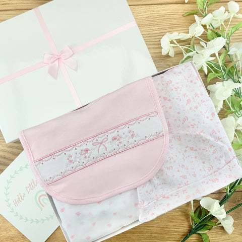 Baby Girl Gift Hamper (7 Items) - Little Bloom Baby Gifts