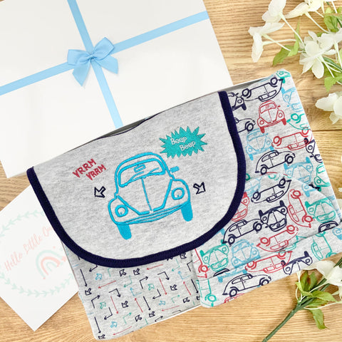 Baby Boy Baby Gifts ( 5 Items)  VW- Beep Beep New Baby Gifts