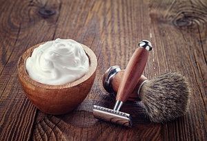 Get a smooth shave with this all natural shave cream. Safe for full body use. Chemical Free.