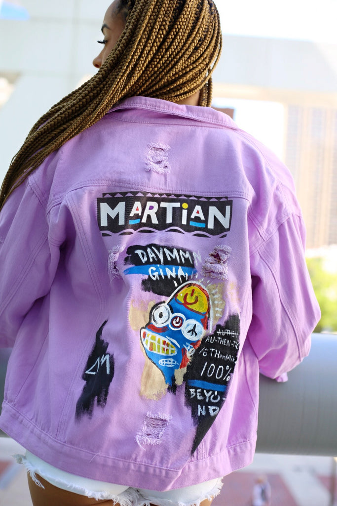 """MARTIAN"" Denim Jacket"