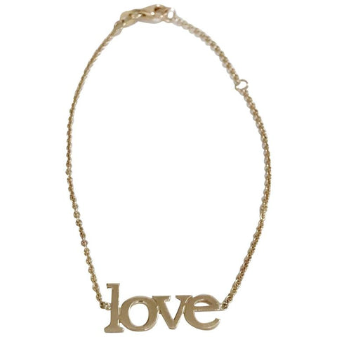 14kt Yellow Gold Large Love Bracelet