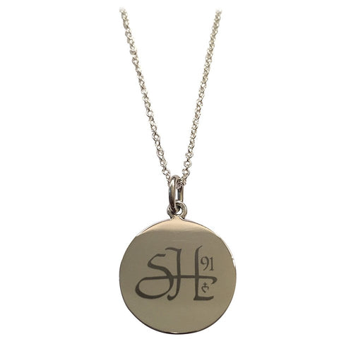 charming first with holy necklace engraving engraved tag p communion asp