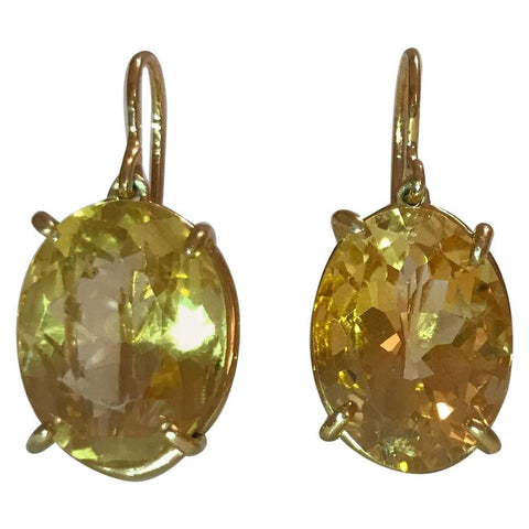 The Gabriella Hanging Stone Earring