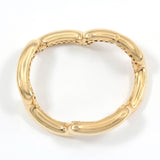 18kt Yellow Gold Tubular Bracelet