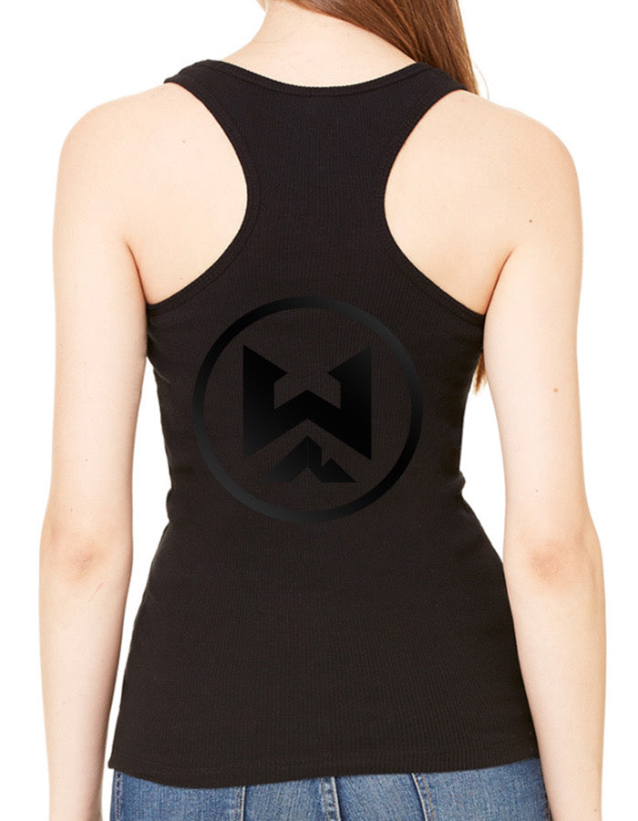 BLACK ON BLACK WYCKED NATURALS (LADIES) TANK