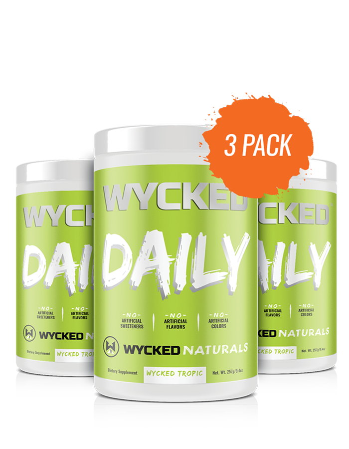 (3 Pack) WYCKED DAILY