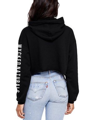 Wycked Naturals Crop Fleece Hoodie