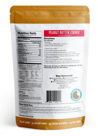 Good Dee's Peanut Butter Cookie Mix- Low Carb, Gluten Free, Soy Free, Keto, No Sugar Added, on SwitchGrocery