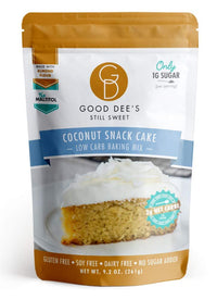 Shop Good Dees Low Carb Coconut Snack Cake on SwitchGrocery