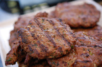 Make spicy chicken burgers with Jaswant's Kitchen low carb BBQ Bundle