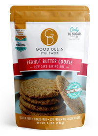 Good Dee's Peanut Butter Cookie Mix- Low Carb, Gluten Free, Soy Free, Keto, No Sugar Added, on Switch Grocery