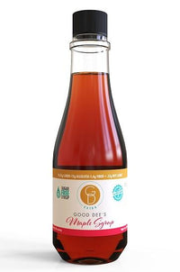 Good Dee's Sugar Free Maple Syrup Bottle Front on SwitchGrocery