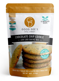 Good Dees keto friendly low carb sugar free Choc Chip Cookie on SwitchGrocery