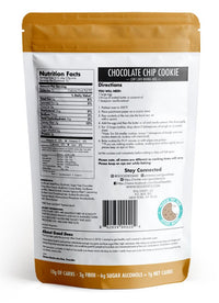 Good Dees keto friendly low carb sugar free Choc Chip Cookie Nutritionals SwitchGrocery