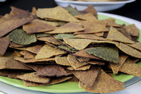 make low carb chips with baked Live vegan and keto wraps available on SwitchGrocery