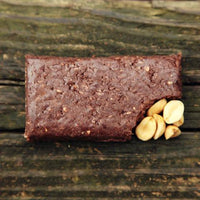 Keto Bars Chocolate Peanut Butter bar unwrapped on SwitchGrocery