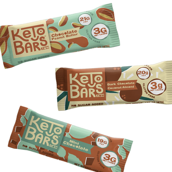 Keto Bars Variety Pack SwitchGrocery