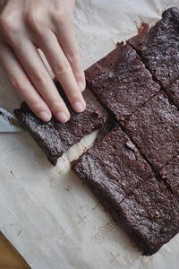 Make low carb nut free brownies with Good Dee's Brownie Mix
