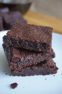 Make low carb grain free brownies with Good Dee's Brownie Mix