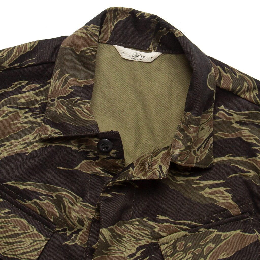 BDU Jacket - Tiger Camo
