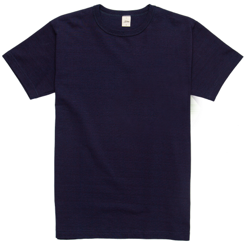 Heavyweight Pocketless Tee - Indigo