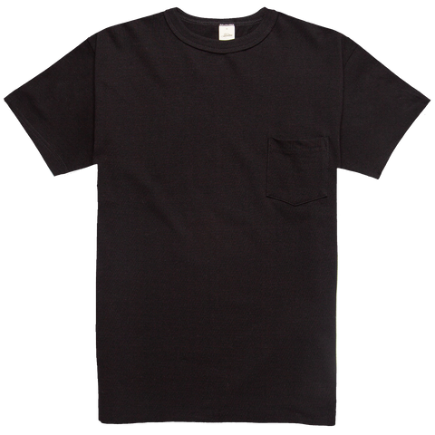 Heavyweight Pocket Tee - Black