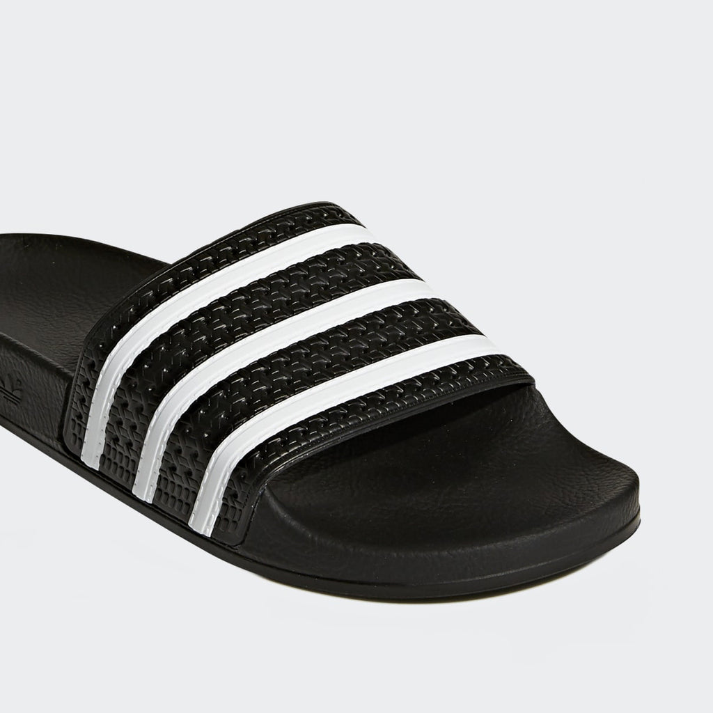 Adilette Slides - Black / White