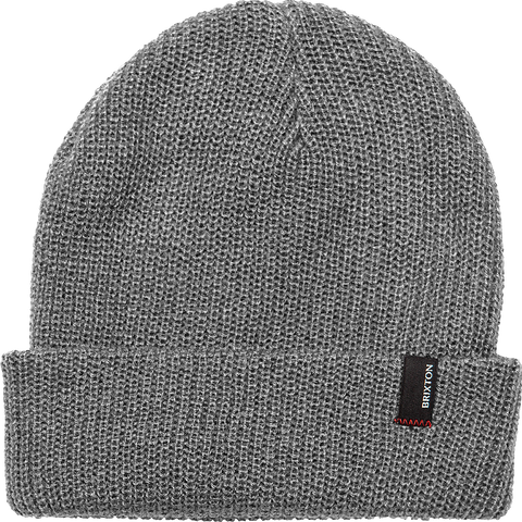 1x1 Heist Beanie - Light Heather Grey
