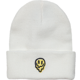 Embroidered Melter Watch Cap - White