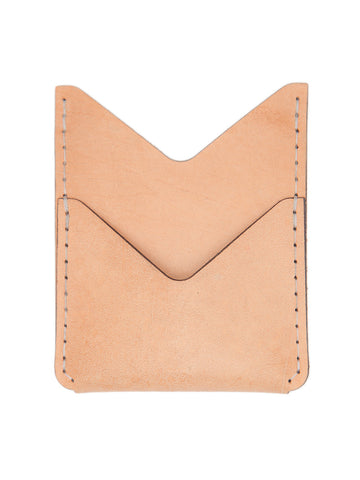 Double Pocket Wallet - Natural